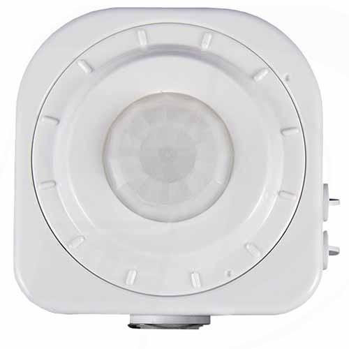 Etlin-Daniels SENPIR-HB-01 - Line Voltage Passive Infrared Occupancy Sensor Switch - 120-347Vac White Color