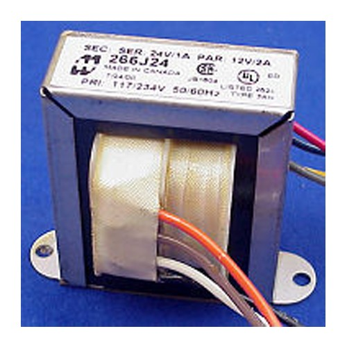 Hammond 266G20 - Power Transformer - Low Voltage/Filament - Open Style - Chassis Mount - 117/234 VAC Dual Primary - 50/60Hz - 10VA