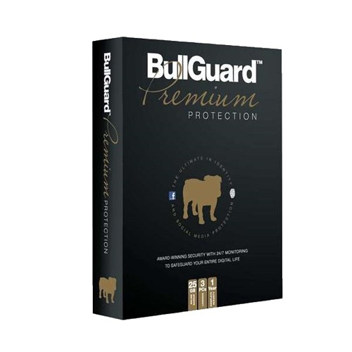 BullGuard Premium Protection - 1-Year / 3-PC / 25GB Backup - Retail Box