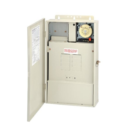 Intermatic T40003RT3 - Pool and Spa Mechanical Control Centers - Pool Panel with Transformer 300-Watt