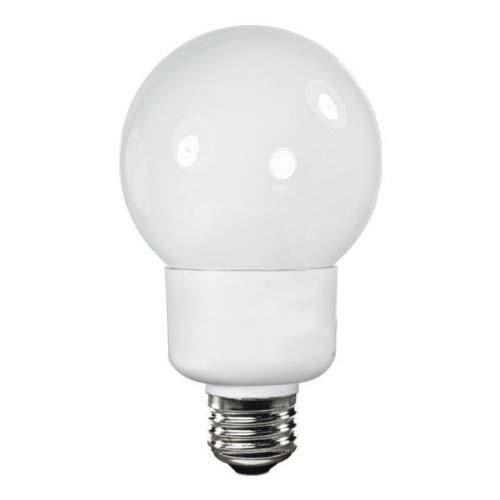 TCP 4G2515TD  - CFL TruDim G25 - 15 Watt - 2700 Kelvin - 12,000 Hours Life - 60 Watt Incandescent Equivalent - Dimmable Decorative Globe Light Bulb