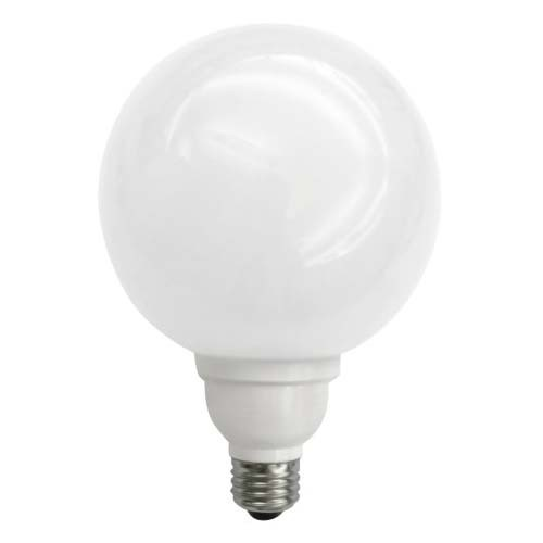 TCP 1G402335K - 23 Watt G40 Globe - CFL - 3500K - Bright White - Equals 100W Incandescent Bulb