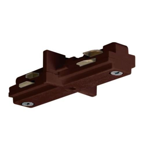 Satco TP205 - Mini Straight Connector - Brown Finish