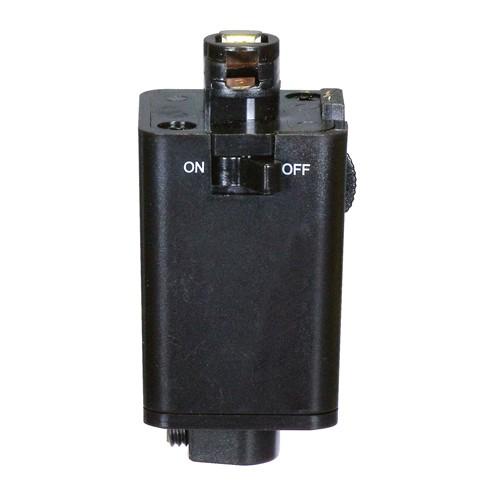 Satco TP232 - Pendant Track Adapter - Black Finish