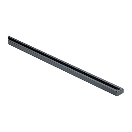 Satco TR121 - 4' Track Lighting Track - Black Finish