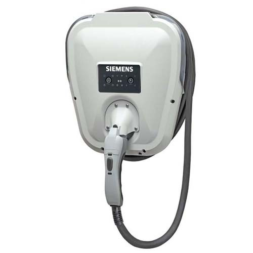 Siemens VC30GRYU - Universal VersiCharge Electric Vehicle Charger - 30A 208-240Vac - Grey - NEMA 4 Enclosure for Indoor and Outdoor