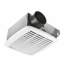 Vista S50 - UltraAIR Ventilation Fan - 50 CFM - 3.4 Sones - Duct Size 3 in. - White Color