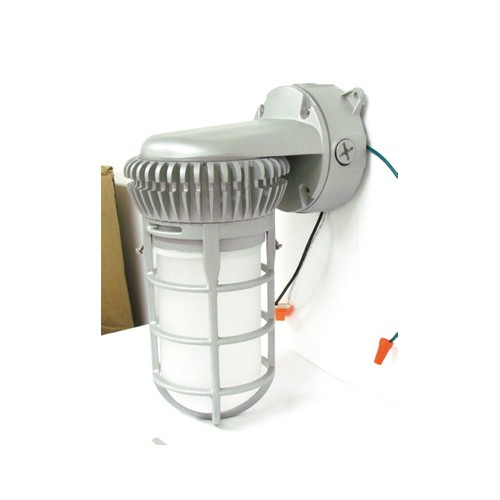 Etlin Daniels VPT-12U5N-FGR - LED Vapor Tight Wall Pack - 12 Watt - 5000K Daylight - 120-277V