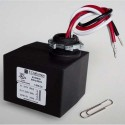 E Craftsmen 210097F - Enclosed Slim Line Autotransformer 347V down to 120V - 60VA - Auto-Resetting Thermal Fuse