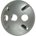 VISTA 28032 - Round 3-Hole Cover w/gasket - White