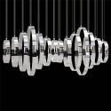 Eurofase 28558-019 - GLADE - 14-LIGHT LED CHANDELIER - Chrome Finish - 120V - 3W - 2800 Lumens - 4000K Cool White