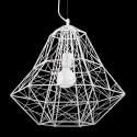 Instyle - 2912/400 - 1 LIGHT PENDANT - Metal in white - E26 Bulb - 120V