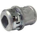 Arlington 380ST - SNAP²IT Connectors - Zinc die-cast - Silver - 50 Packs