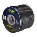 Satco 93-166 - Lamp And Lighting Bulk Wire - 16/2 SPT-2 105°C - 250 Foot/Spool - 300 Volts - Black Finish