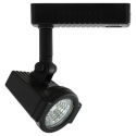 Liteline AA1010-BK - Alpha Black Track Fixture - 12V Low Voltage - Uncovered MR16 Lamp 50W Max.