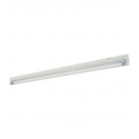 "T4 20W - 21"" Aluminum Fluorescent Bar - 2-Wire - 3200K Warm White - PC Lens - 6ft Power Cord with Polarized Plug - Liteline ALFT4-20-3200"