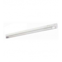 """T5 14W - 22.63"""" Aluminum Fluorescent Bar with Built-in ON/OFF Switch - 3-Wire - 3200K Warm White - PC Lens - Liteline ALFT5-14-3200-3"""