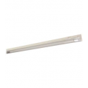 """T5 21W - 34.4"""" Aluminum Fluorescent Bar with Built-in ON/OFF Switch - 3-Wire - 3200K Warm White - PC Lens - Liteline ALFT5-21-3200-3"""