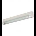 """T5 6W - 9.33"""" Aluminum Fluorescent Bar - 3-Wire - 3200K Warm White - PC Lens - Link Connector - Liteline ALFT5-6-3200-3"""