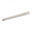 "T5 8W - 12.36"" Aluminum Fluorescent Bar with Built-in ON/OFF Switch - 3-Wire - 4100K Cool White - PC Lens - Liteline ALFT5-8-4100-3"