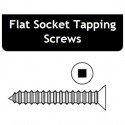 10 x 1 Flat Socket Tapping Screws - Price for Pack of 100 PCS - Hold-Tite STPFS10100