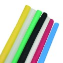 Techspan HSPO-375-4-IIL - Thin Wall Heat Shrink Tubing - 0.375'' Expanded Dia. - 0.188'' Recovered Dia. - 600V Rated - Yellow - 4' PCS