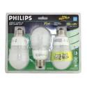 Philips 152741 - CFL14 Watt - 120 Volt - Medium E26 Base - A19 - 2700K - 3 Pack