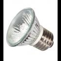 Liteline LMP16XE26AC-50B-130V - 130V 50W HR16 Covered Xenon Lamp - MR16 Medium E26 Base - 2500 Hrs. - Aluminum Reflector