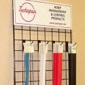 "Techspan MHSP-3/4-WH-IIL-NC - K-SPEC® Thin-Wall Heat Shrink Tubing - 3/4""ID x 4FT - Cross-Link Polyolefin - White - 100 Packs"