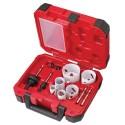 10-pc Electricians Hole Dozer™ Hole Saw Kit - Milwaukee 49-22-4095