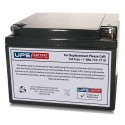 GS Battery - 12V 26AH - Rechargeable - TERMINAL-AB