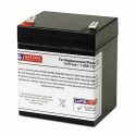 GS Battery - 12V 5.0AH - Rechargeable Battery with F2 Terminals