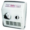 AirMax RM54-Q974 - Hand Dryer - 208-230V - Cast Iron White - The High Speed and Heavy Duty Hand Dryers