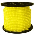 1/2 in. - LED - Yellow - Rope Light - 2 Wire - 120V - 150 ft. Spool - Yellow Color Tubing with Yellow LEDs - IFLC-18-YS