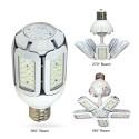 Satco S29798 - High Lumen Multi-Beam Industrial/Commercial LED Lamps - 40W - 100-277V - 2700K Warm White - 4880 Lumens - Mogul extended base - 360/270/180 Deg Beam Spread - White Finish - Non-Dimmable