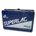 GS Stationary Battery - 12V 50AH - Rechargeable