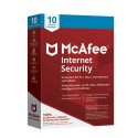McAfee Internet Security 2018 (PC/ Mac/ Android/ Chrome/ iOS) - 10 Users - 1 Year