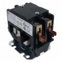 T.C - 2 Pole 30Amp Definite Purpose Contractor Box Lugs - 24V 60Hz Coil
