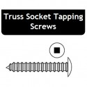6 x 1-1/2 Truss Socket Tapping Screws - Price for Pack of 100 PCS - Hold-Tite STPTS611200
