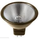 Ushio 1003542 - 50 Watt - MR16 - 12 Volt - Superline Reflekto - Matt Bronze Coated Backing - EXZ Narrow Flood - Front Glass Cover - 3,500 Life Hours - 50 Packs