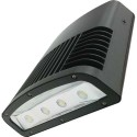 Large LED Wall Pack - 148 Watt - 5000K Daylight - 12769 Lumens - 347V - Replace Up to 400W Traditional Wall Pack - Bronze - Stanpro WPTL-LS2-H/50K