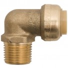 "ALLTEMP 02-07512R - Elbow Connectors - 1/2"" x 1/2"" MPT to quick connect elbow"