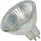 Shat-r-Shield 02014S 50W MR16 with Cover, Clear GU5.3 Base 12V Shatter-Resistant Halogen Bulb - 20 PACK