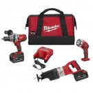 Milwaukee 0928-23 - M28 Cordless LITHIUM-ION 3-Piece Combo Kit