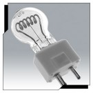 Ushio 1000251 - DYS/DYV/BHC - 600 Watt - 120 Volt - Clear - CC-6 Filament - GY9.5 Base - Halogen Bulb - 10 Packs