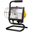 VISTA 10025 - Portable Halogen Work Light - 500W - Yellow & Black