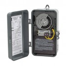 NSI Industries 1101FM-N - Same On/Off Times Each Day Swimming Pool Control Time Fireman Switch - Noryl Indoor/Outdoor NEMA 3R Enclosure - 120 VAC Input Supply