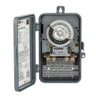 Tork 1104B-P 24 Hour Time Switch 40A 208-277V DPST Indoor/Outdoor Plastic Enclosure