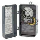 NSI Industries 1104FM-N - Same On/Off Times Each Day Swimming Pool Control Time Fireman Switch - Noryl Indoor/Outdoor NEMA 3R Enclosure - 208-277 VAC Input Supply