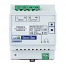 Leviton 110A00-2 - Omni-Bus Universal Dimmer DIN Rail Module - Omni-Bus controls CFL - Electronic Low Voltage